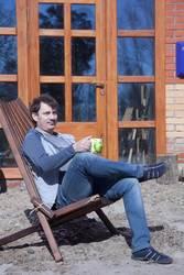 Предлагаем складной стул-шезлонг,  кресло из дерева  - foto 1