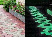 Светящаяся тротуарная плитка - foto 1