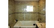 Стеклянные складные шторки для ванной - foto 1