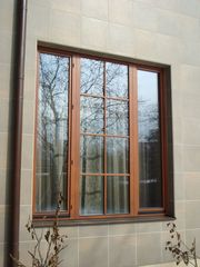Окна из ценных пород древесины - foto 1